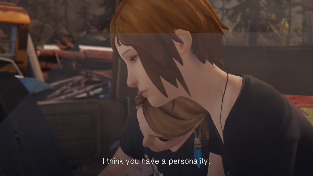Chloe knows how to comfort a woman